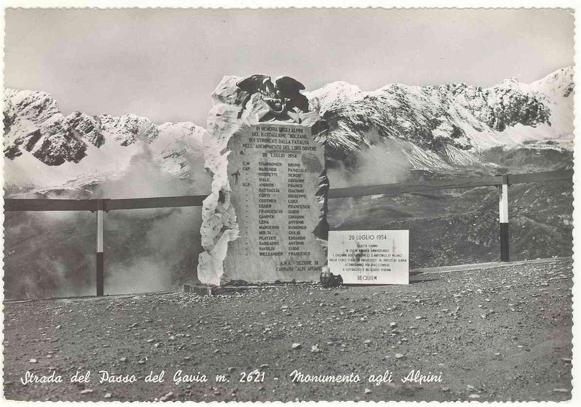 20 Luglio 1954, 18 vite di giovani Alpini tragicamente spezzate